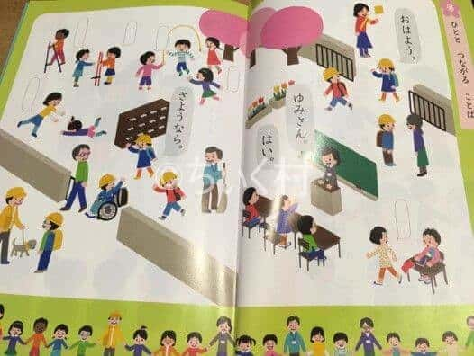 実際の教科書写真