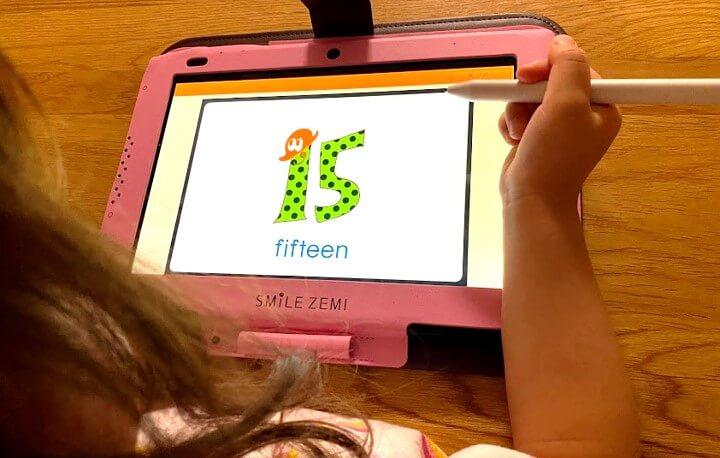 タブレット学習を幼児期からやるならスマイルゼミ
